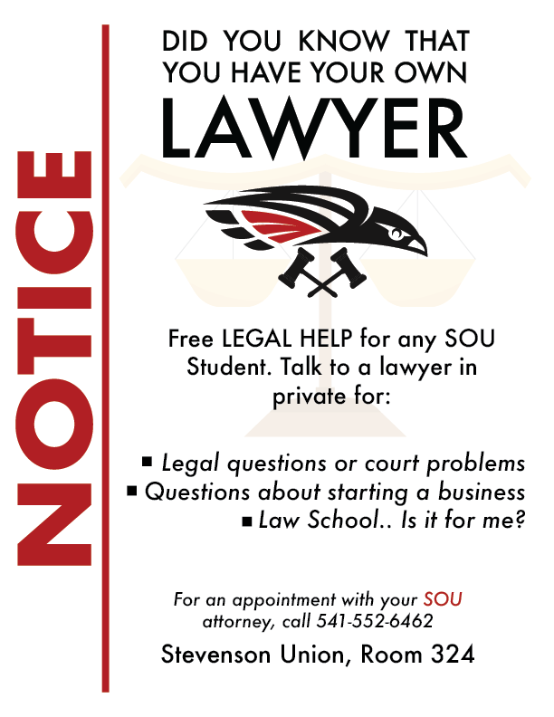 Lawyer Service Poster