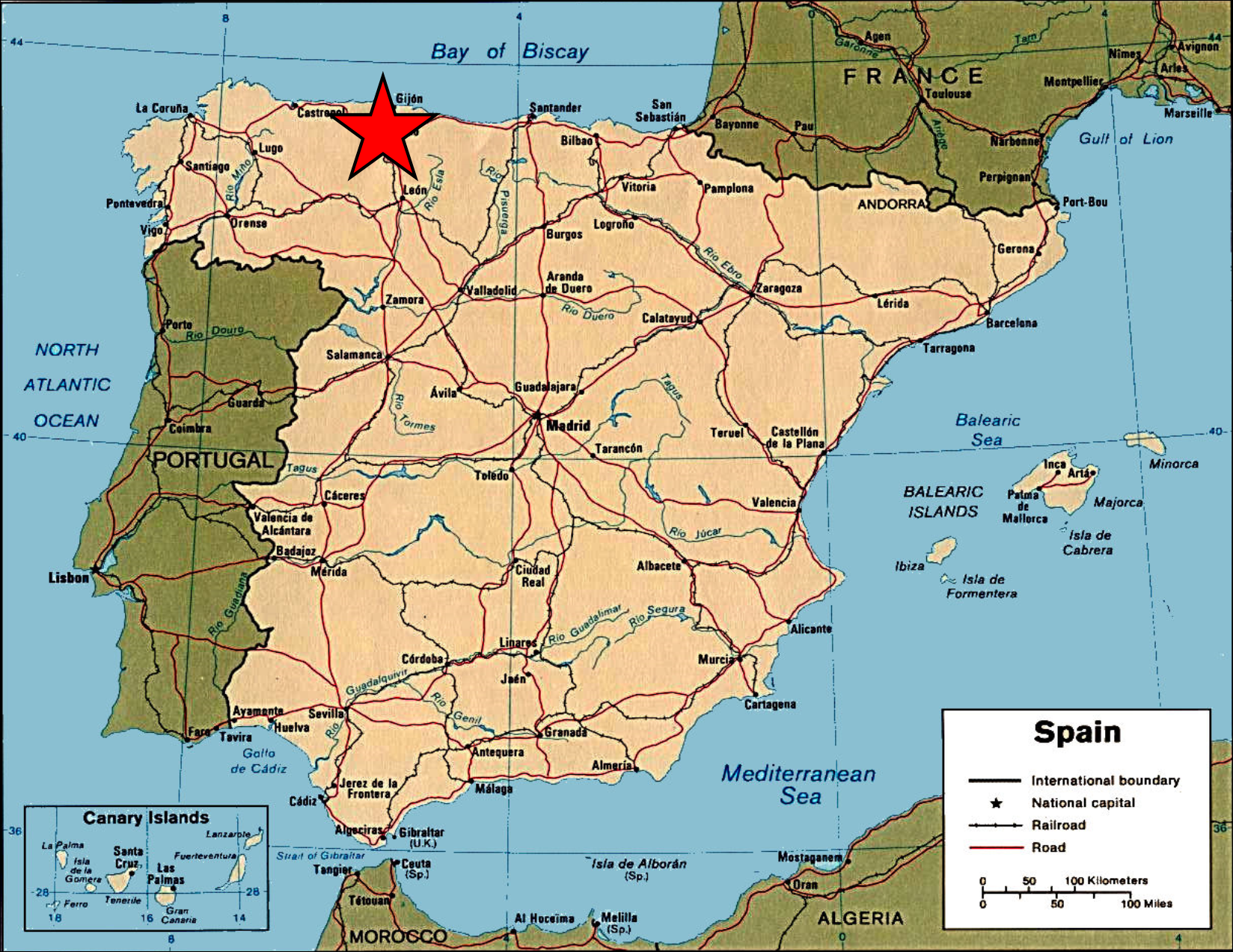 Map Of Spain Oviedo.Apply Now Study Communication Sustainability And Culture In Oviedo