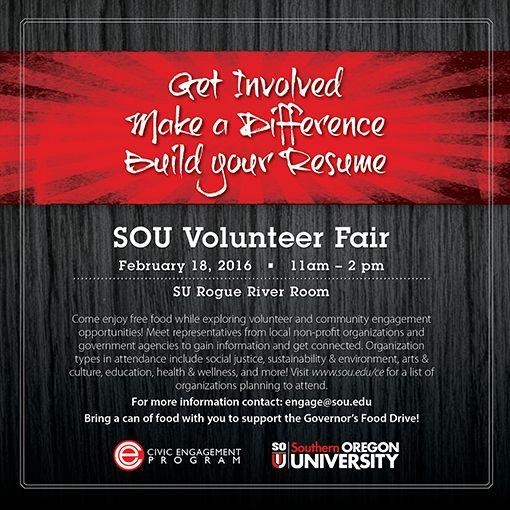 Volunteer Fair for Email and Social