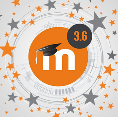 Moodle 3.6 logo