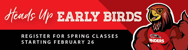 Early Bird Registration begins February 26