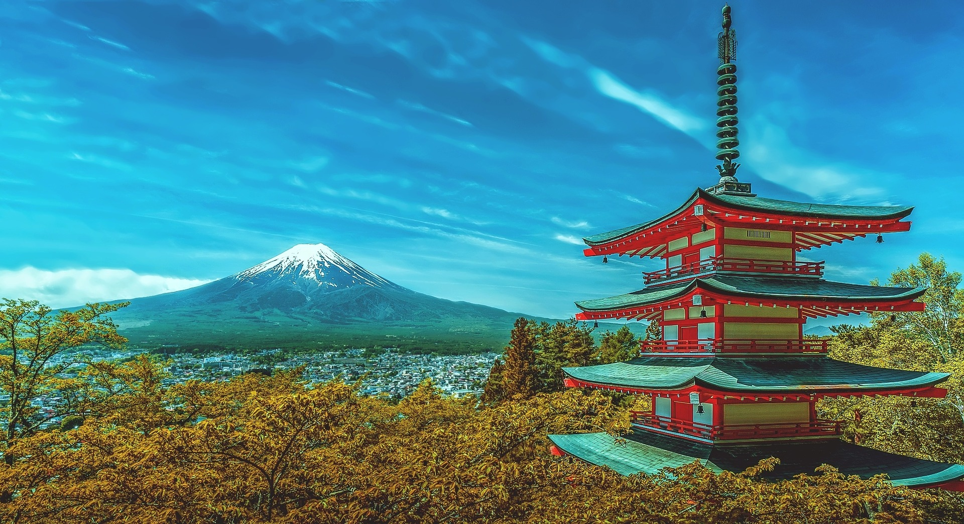 Picture of Mount Fuji, Japan