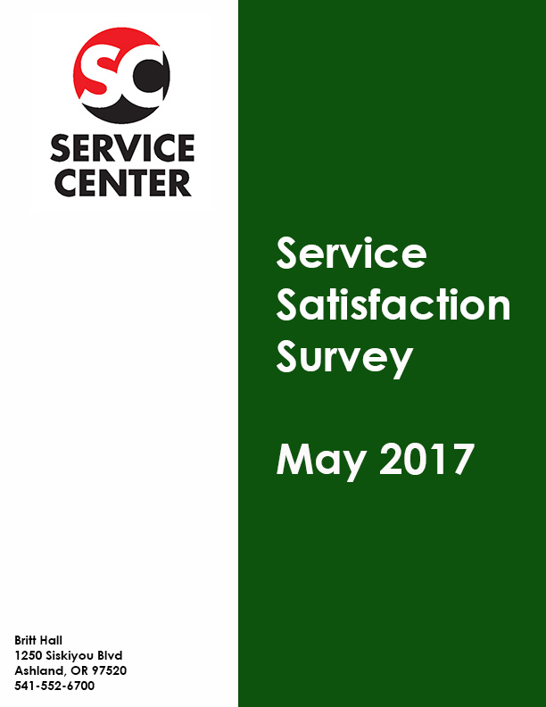 SC Satisfaction Survey May 2017