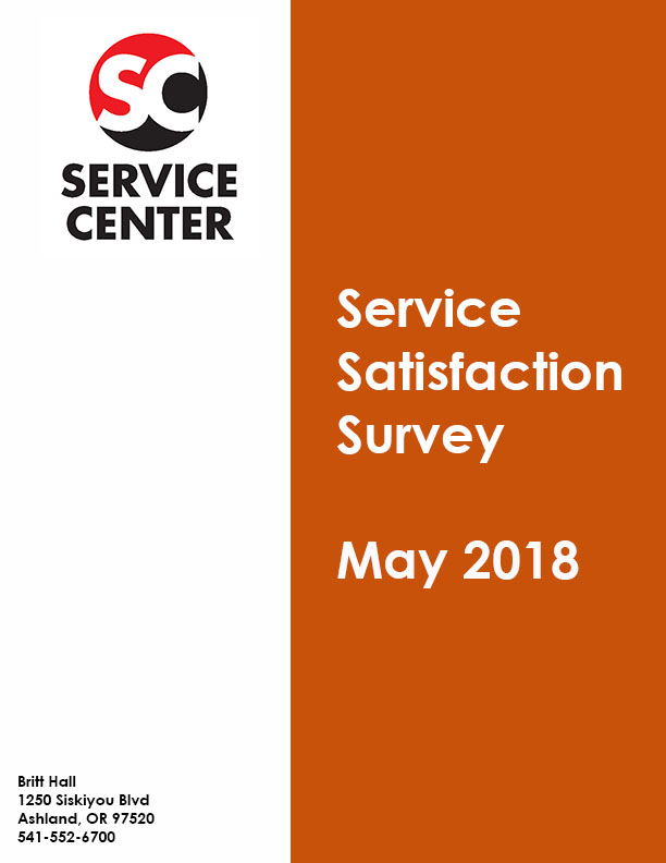 SC Satisfaction Survey May 2018