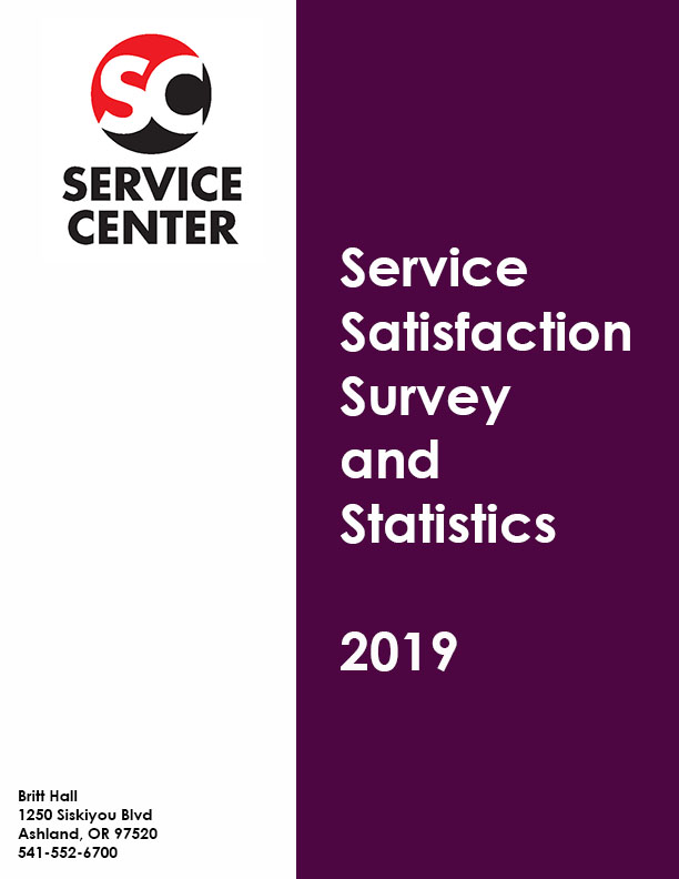 SC Satisfaction Survey and Statistics 2019