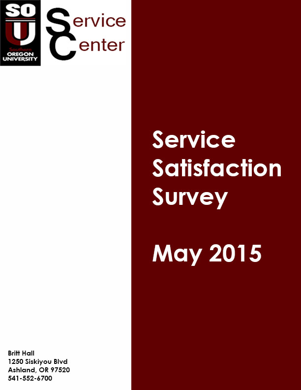 SC Satisfaction Survey May 2015