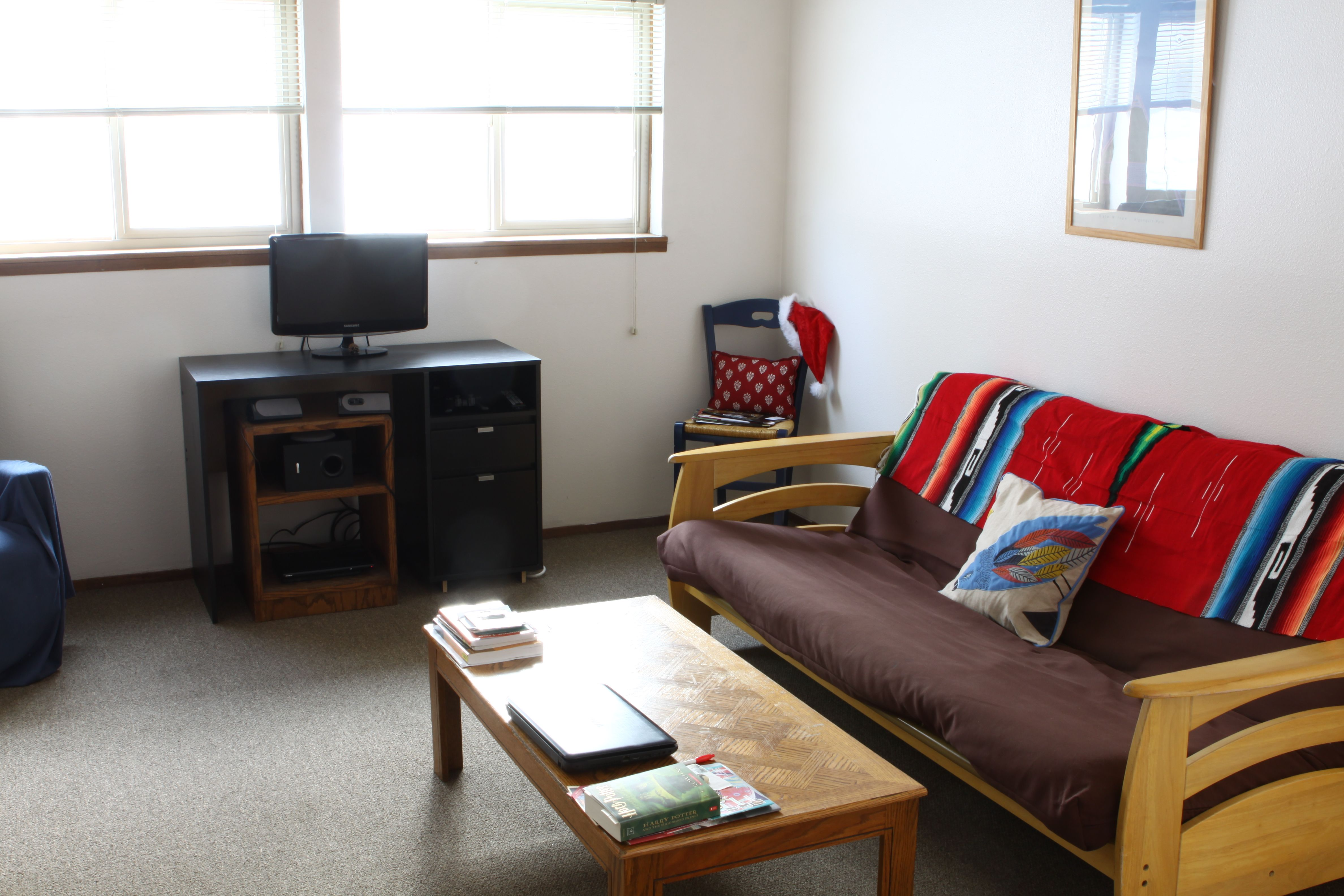 Quincy 2 Bedroom Flat Living Room