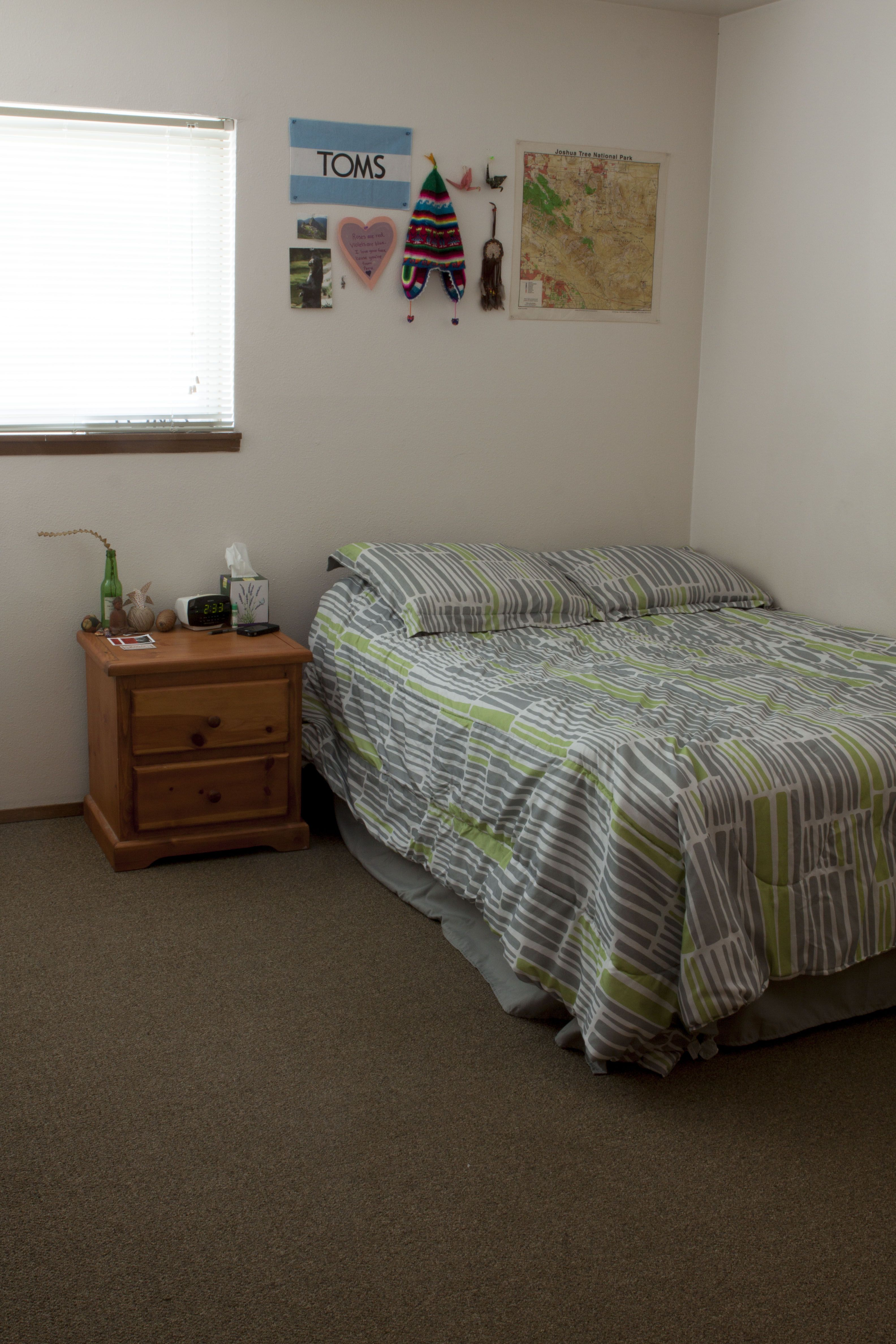 Quincy 2 Bedroom Flat Master Bedroom