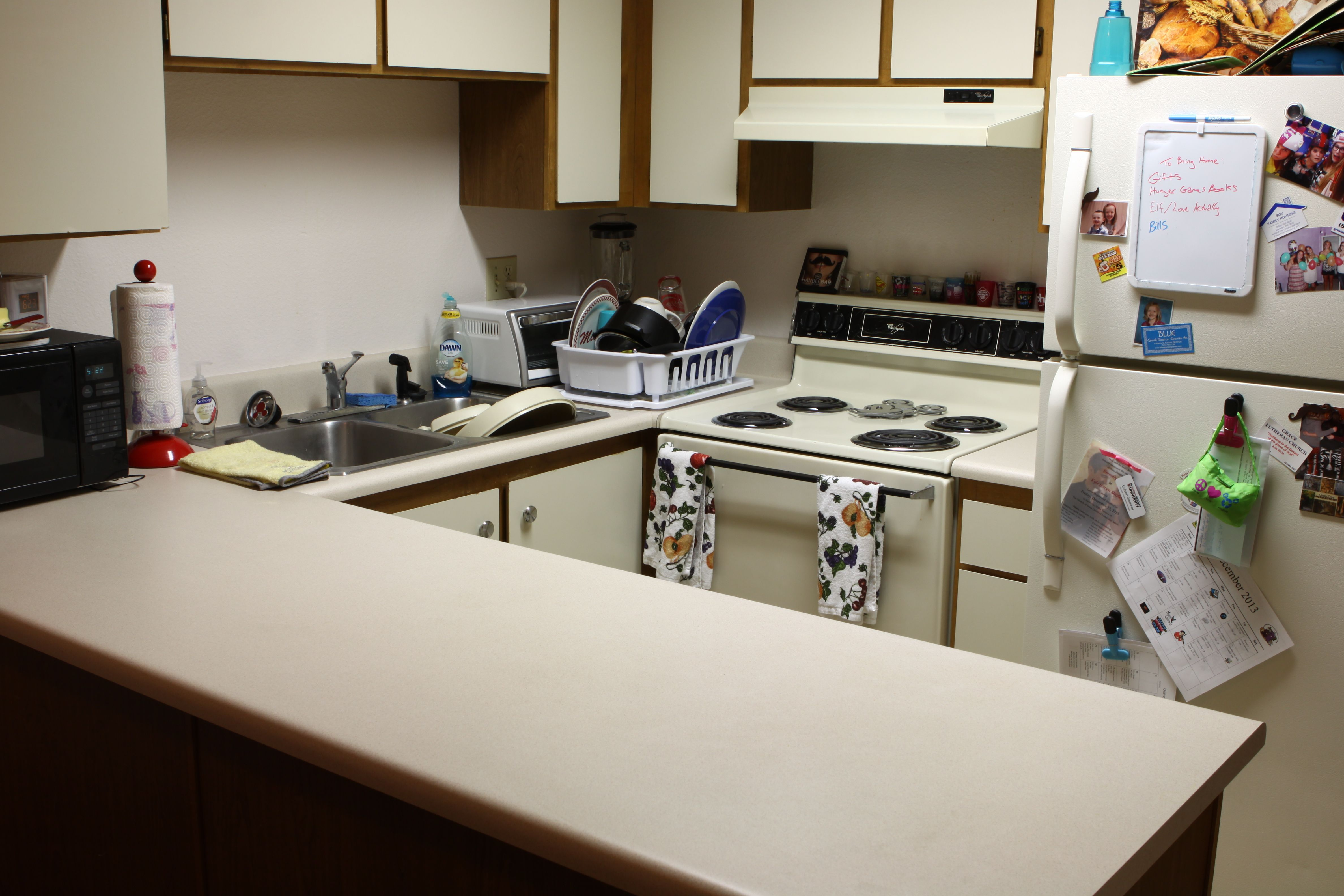 Quincy 2 Bedroom Townhouse Kitchen