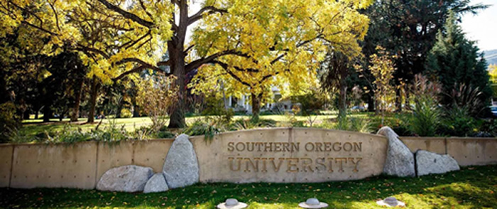 Southern Oregon University Sign