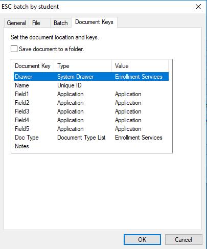 docim esc batch by student keys