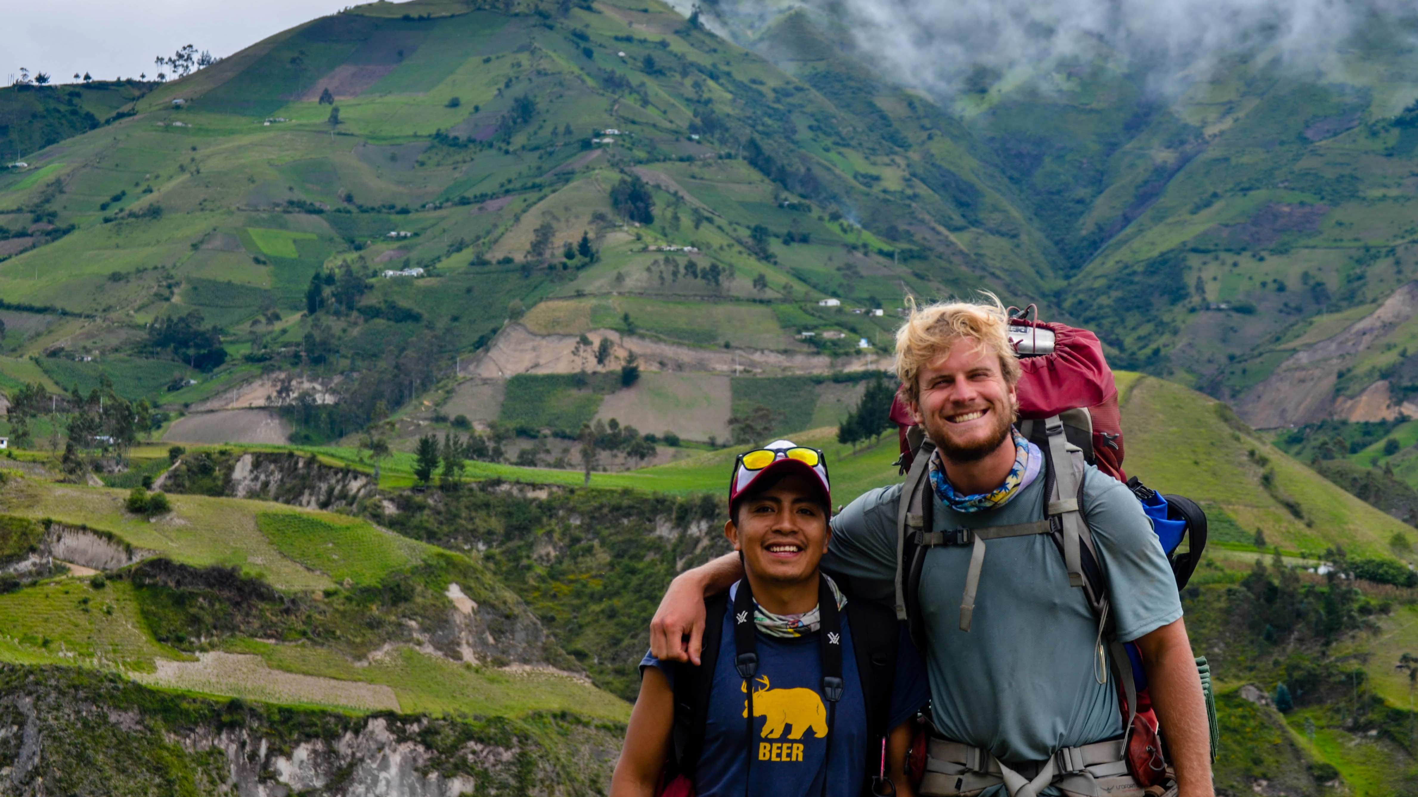 Backpack Ecuador with the Outdoor Program!