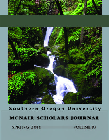 2014 SOU McNair Scholars Journal