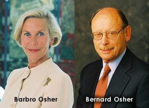 photo of Barbro and Bernard Osher