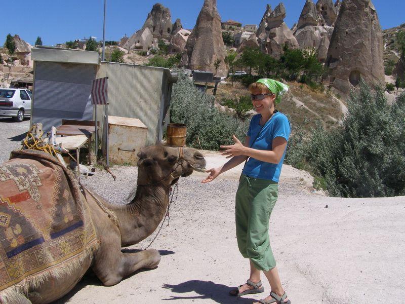 Dr. Ellen Siem in Cappadocia Region, Turkey