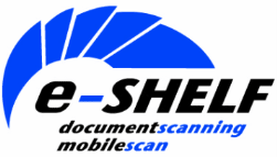 Logo for e-Shelf Document Scanning and Mobile Scan