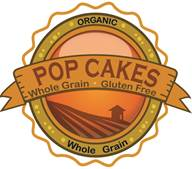 Logo for Popcakes Organic Whole Grain Gluten Free