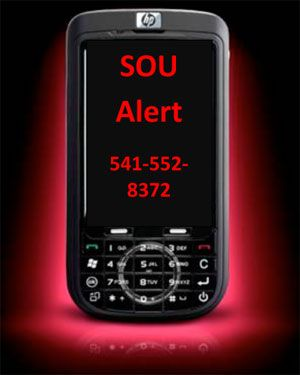 Photo of cell phone with emergency numbers: 5415528372