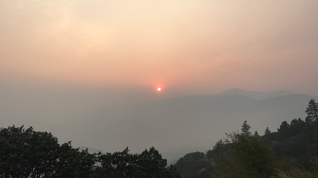 Oregon Wildfires: Air Quality