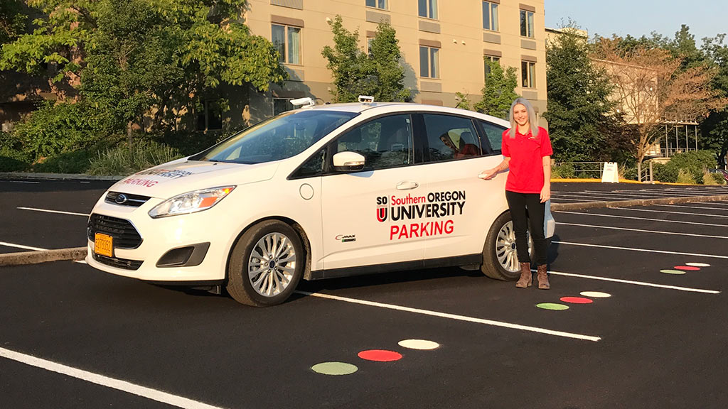 SOU Parking Moves to License Plate Recognition