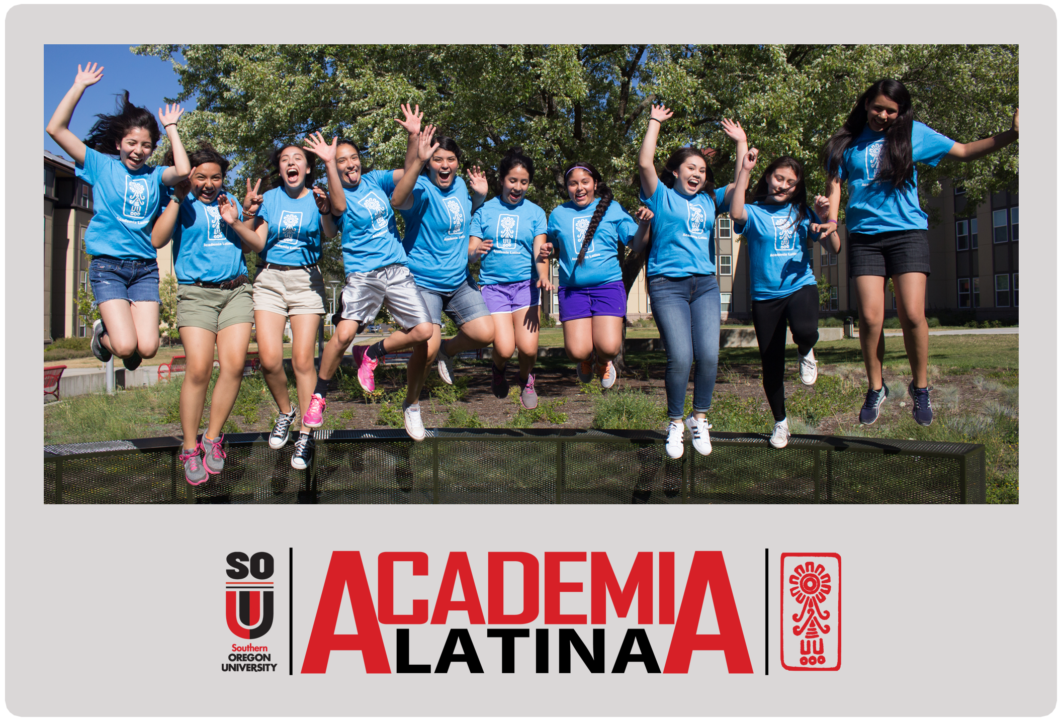 Academia Latina Button for 7th - 9th Grade Students