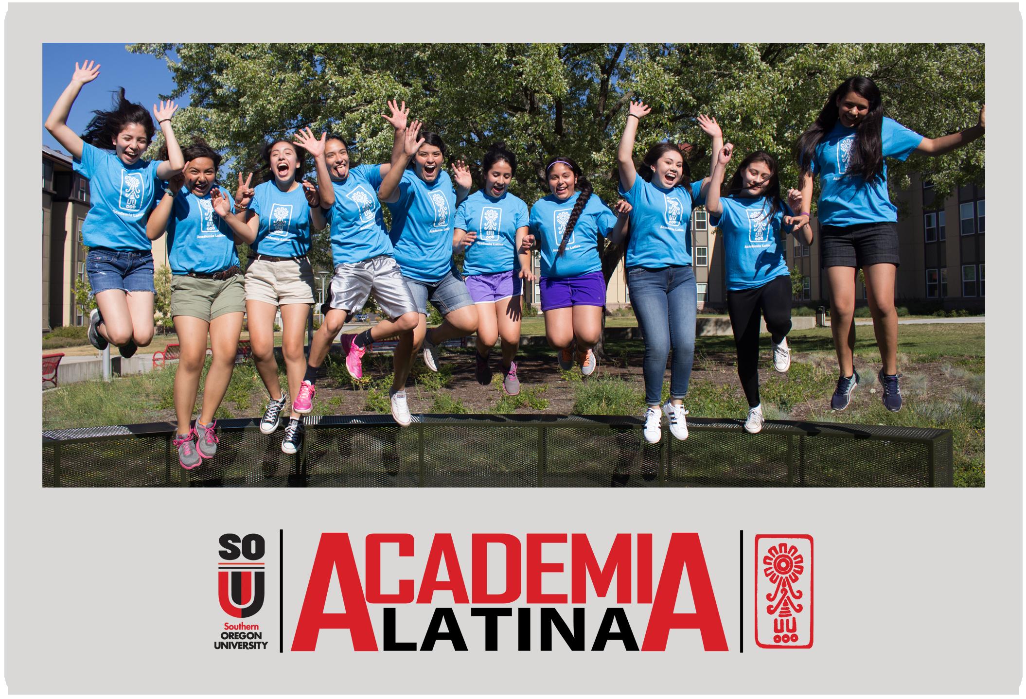 Academia Latina Button for 7th - 9th Grade Students