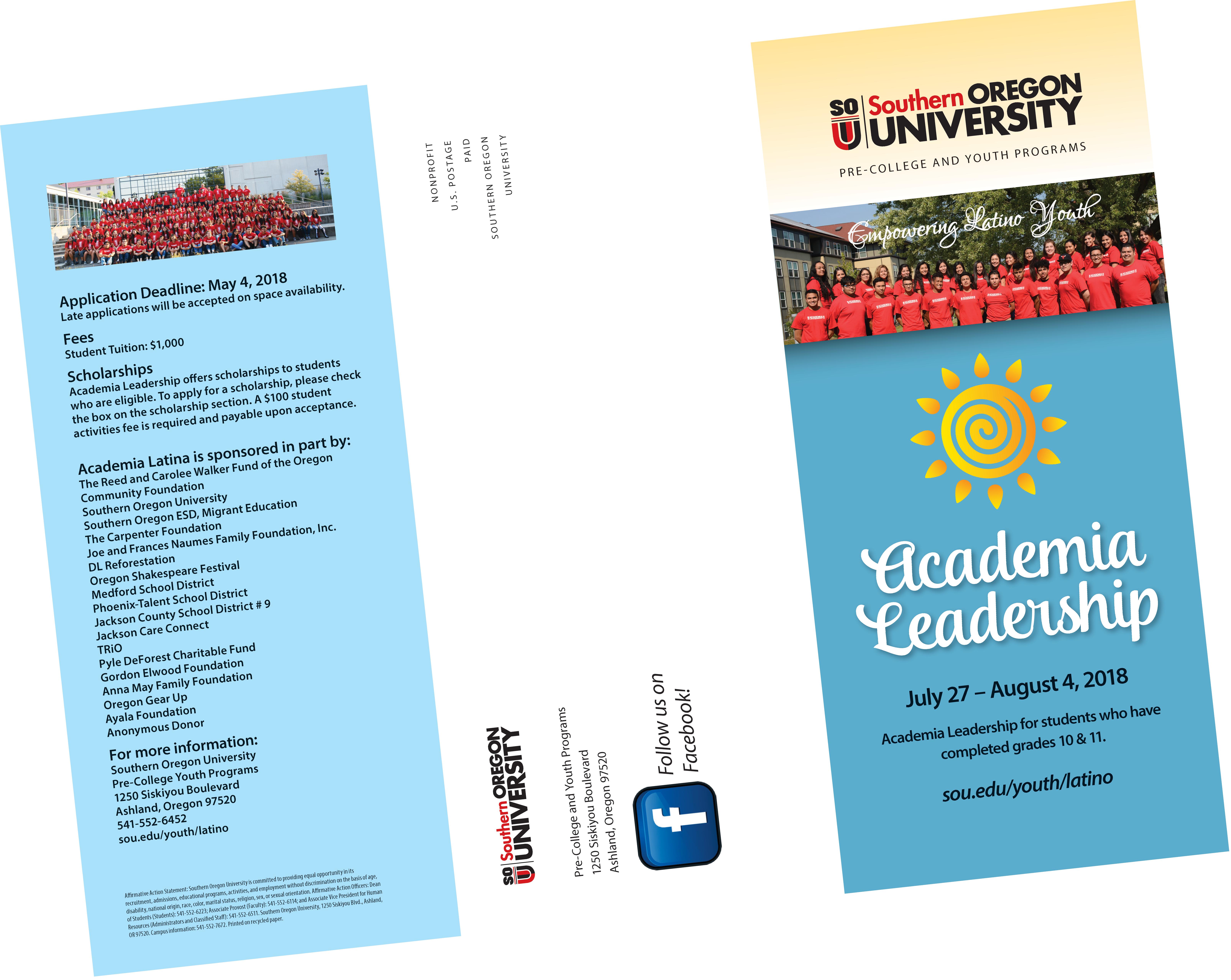 Academy Leadership Brochure